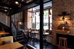 True Burger #Restaurant by Kley #Design Studio true burger restaurant 2