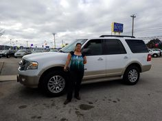 AMBER's new 2007 FORD  EXPEDITION ! Congratulations and best wishes from Benny Boyd Motor Company - Marble Falls and DEE NIXON.