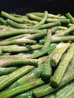 Sea Jay's Cupcakes: The Most Delicious Way to Cook Green Beans, looks like a healthy way to boost green bean flavour