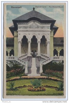 Bucuresti - Parcul Carol - Pavilionul Regal - interbelica
