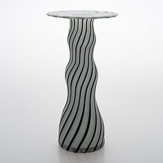 Sandblasted opaline glass with black filigree. Labelmarked. Height 32 cm. All Themes, Opaline, Nordic Design, Bukowski, Spring Sale, Wine And Spirits, Design Art, Glass Art, Contemporary Art