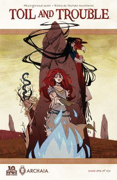 Toil and Trouble #1 #Boom #Archaia #ToilAndTrouble Release Date: 9/2/2015