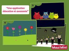 Jeux pour les enfants de 1 à 5 ans à jouer sur tablettes - Maui Mini Jeux Éducatifs