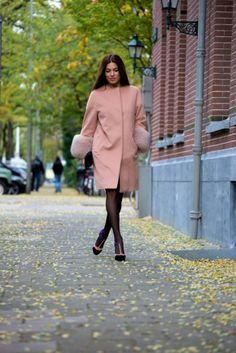 Negin Mirsalehi in Antwerp, Belgium, to visit the cocktail party of Italian fashion brand KI6 Whoareyou