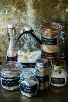 How to infuse flavors into sugar