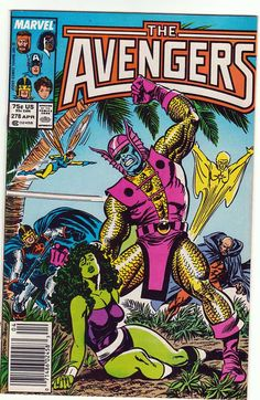 The #Avengers Comic Book, 1987. #marvel #vintage #uncommonshop