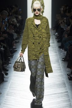 Bottega Veneta Fall 2016 Ready-to-Wear Fashion Show - Marjan Jonkman