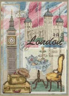 Unusual pattern for London Decoupage Vintage, Decoupage Paper, Vintage Diy, Vintage Images, Scrapbooking Paris, Scrapbook Paper, Cross Stitch Charts, Cross Stitch Patterns, Cross Stitching