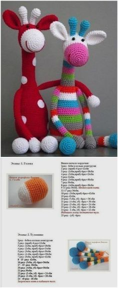 I have brought a very interesting post on crochet giraffe amigurumi patterns for inspiration. All of them are super cute and so adorable:Gorgeous Giraffe I have brought a very interesting post on crochet giraffe amigurumi patterns for inspirat Cute Crochet, Crochet Crafts, Crochet Dolls, Crochet Baby, Crochet Projects, Diy Crafts, Amigurumi Giraffe, Giraffe Toy, Amigurumi Patterns