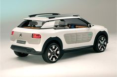 New #Citroen 'Cactus' concept car revealed