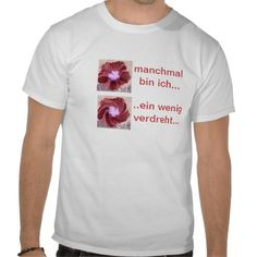 T-Shirt ein wenig verdreht