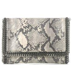 #Matchesfashion Falabella Faux-Python Bag by Stella Mccartney