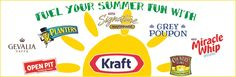 Fuel Your Summer Fun With Kraft Country Dresses, Kraft Recipes, Burger King Logo, Summer Fun, Lemonade, Summer Fun List, Kraft Dinner Recipes, Summer Activities