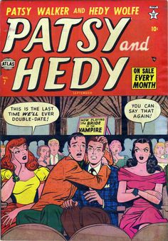 Classic cover by Al Jaffee from Patsy and Hedy #7, published by Marvel/Atlas, September 1952. tumblr_nssmjdMXmi1rhjbado1_540.jpg (540×777)