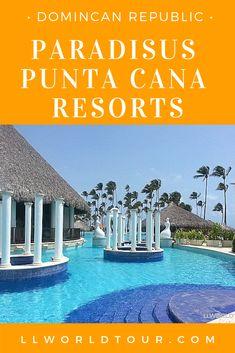 Staying at the Paradisus Palma Real AND the Paradisus Punta Cana in Punta Cana, Dominican Republic. Punta Cana All Inclusive, Best All Inclusive Resorts, Hotels And Resorts, Travel Destinations, Travel Tips, Travel Info, Travel Advice, Travel Ideas, Caribbean Vacations