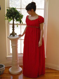 The Story of a Seamstress: jane austen. Apron front ballgown