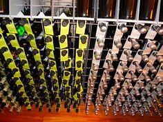 #Portabottiglie #design Esigo 2 Net in acciaio - #Design #steel #winerack Esigo 2 Net