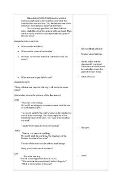 Detailed lesson Plan in Science and Health – III I-OBJECTIVES At the end of the lesson the pupils should be able to: A. Describe the different sense organ. Grade 1 Lesson Plan, Lesson Plan Format, Teacher Lesson Plans, Lesson Planning, Science, How To Plan, Education, Onderwijs, Learning