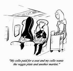 Music Humor | There's always room for cello! | Posted originally on Funny Technology - Google+ by David Payne.