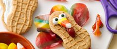 Make these funky turkeys for table party favors, and the kids' table will be the most popular seat at your next Thanksgiving get-together.