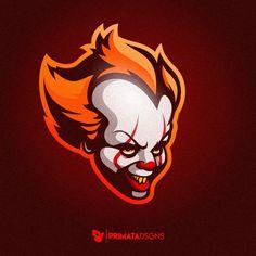Penniwyse sport logo. It a coisa Logo Desing, Game Logo Design, Branding Design, Logo Character, Character Design, Vector Logos, Hero Logo, Logo Sketches, Esports Logo