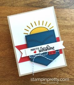40 best su pocketful of sunshine ac 17 images on pinterest in 2018 stampin up pocket full of sunshine gift cards idea mary fish stampinup m4hsunfo