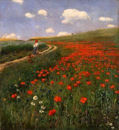 Szinyei Merse Pál- (1845-1920) - Pipacsos táj