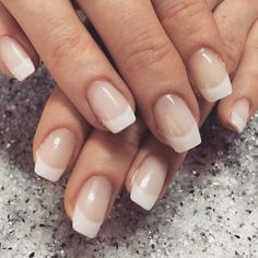 French Nails #frenchnails