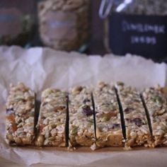 Sports Bars with Dried Fruit and Peanut Butter | Recipe | Sports Bars ...