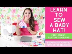 Learn how to sew an adorable baby top knot hat the EASY way with this sewing tutorial complete with a free sewing pattern, step-by-step photos, and a video! Hat Patterns To Sew, Sewing Patterns Free, Free Sewing, Free Pattern, Baby Sewing Projects, Sewing Projects For Beginners, Sewing Blogs, Sewing Tutorials, Sewing Tips