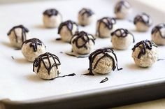 Peanut Butter And Chocolate Pretzel Bites from Skinny Mom