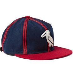 Ebbets Field Flannels - 1944 New Orleans Pelicans Appliquéd Wool-felt Baseball Cap - Navy  FromMr Porter  £55