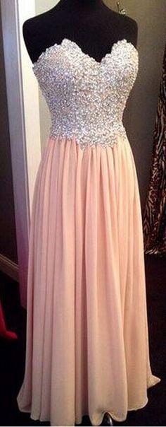 Beading Evening Dresses Sweetheart Floor-Length Prom Dresses Real Made Graduation Dresses Chiffon Sequins Homecoming Dresses Charming Evening Dresses Prom Dresses On Sale