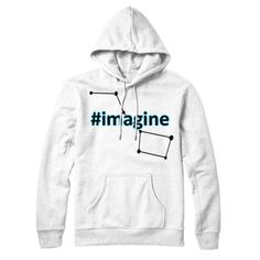 #imagine Unisex Hoodie https://stleons.com/products/imagine-unisex-hoodie