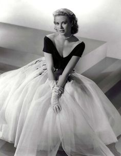 It's all in the name. The epitome of class and elegance, Grace Kelly.