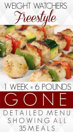 to lose weight or want to eat healthy meals? Here is every morsel of food that I ate in my first week on Weight Watchers Freestyle. My efforts paid off - I lost 6 pounds and I did not exercise at all. You can lose weight too without going hungry! Weight Watchers Tipps, Weight Watchers Meal Plans, Weight Watchers Diet, Weight Watcher Recipes, Weight Watchers Points List, Weight Watchers Program, Weight Watcher Dinners, Healthy Foods To Eat, Healthy Eating