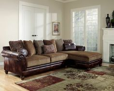 Hartwell   Canyon Sectional Sofa With Right Arm Facing Chaise By Ashley  Furniture   Gill Brothers Furniture   Sofa Sectional Muncie, Anderson, ...
