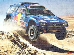 Touareg, powered by diesel, won the Dakar Rally held in South America in 2009-2011.