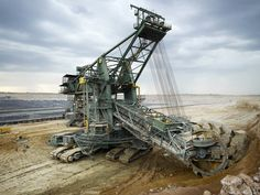 In 2008, Sandvik delivered three C-frame type bucket wheel excavators with 1400 liter bucket capacity and 34 metre boom length to Neyveli Lignite Mines in India.