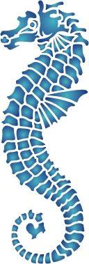 Seahorse Stencil                                                                                                                                                                                 More