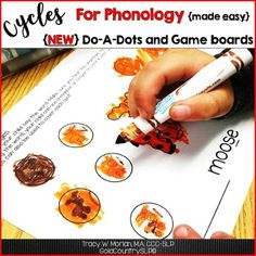 Cycles for Phonology BONUS pages #cyclesforphonology