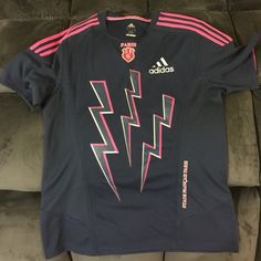 New without Tags Stade Francais Paris Rugby Shirt. Never worn Stade Francais  Rugby Shirt Adidas 0a63483a881