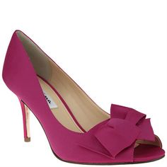 Nina FRASER BERRY LUSTER SATIN by Nina Shoes