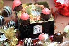 Champagne or Chanel ? and Chocolate  Fardoulis Chocolates Chocolate Plato  www.choc.com.au