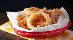 Easy Homemade Cheesy Onion Rings Recipe!