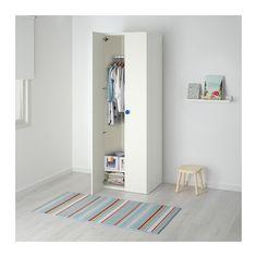 IKEA STUVA/FÖLJA wardrobe Deep enough to hold standard-sized adult hangers.