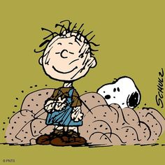 Snoopy and Pig Pen Snoopy Cartoon, Peanuts Cartoon, Peanuts Snoopy, Charlie Brown Christmas, Charlie Brown And Snoopy, Snoopy Love, Snoopy And Woodstock, Peanuts Characters, Cartoon Characters