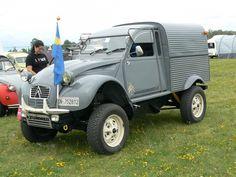 Very cool Deux Chevaux Citroën 2CV pick-up