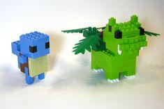 Lego Pokemon, Pokemon Party, Super Smash Bros Melee, Pokemon Realistic, Lego Bots, Pokemon Fusion Art, Bulbasaur, Lego Models, Lego Building