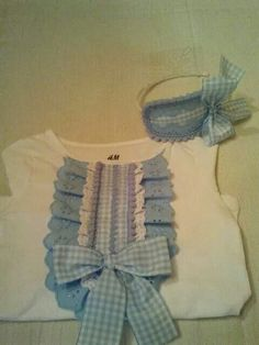 Sewing For Kids, Baby Sewing, Diy For Kids, Little Girl Dresses, Girls Dresses, Baby Kit, Girls Blouse, Diy Clothes, Baby Dress